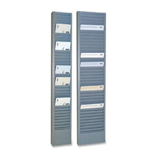 MMF Horizontal Swipe Card Rack - 18.7