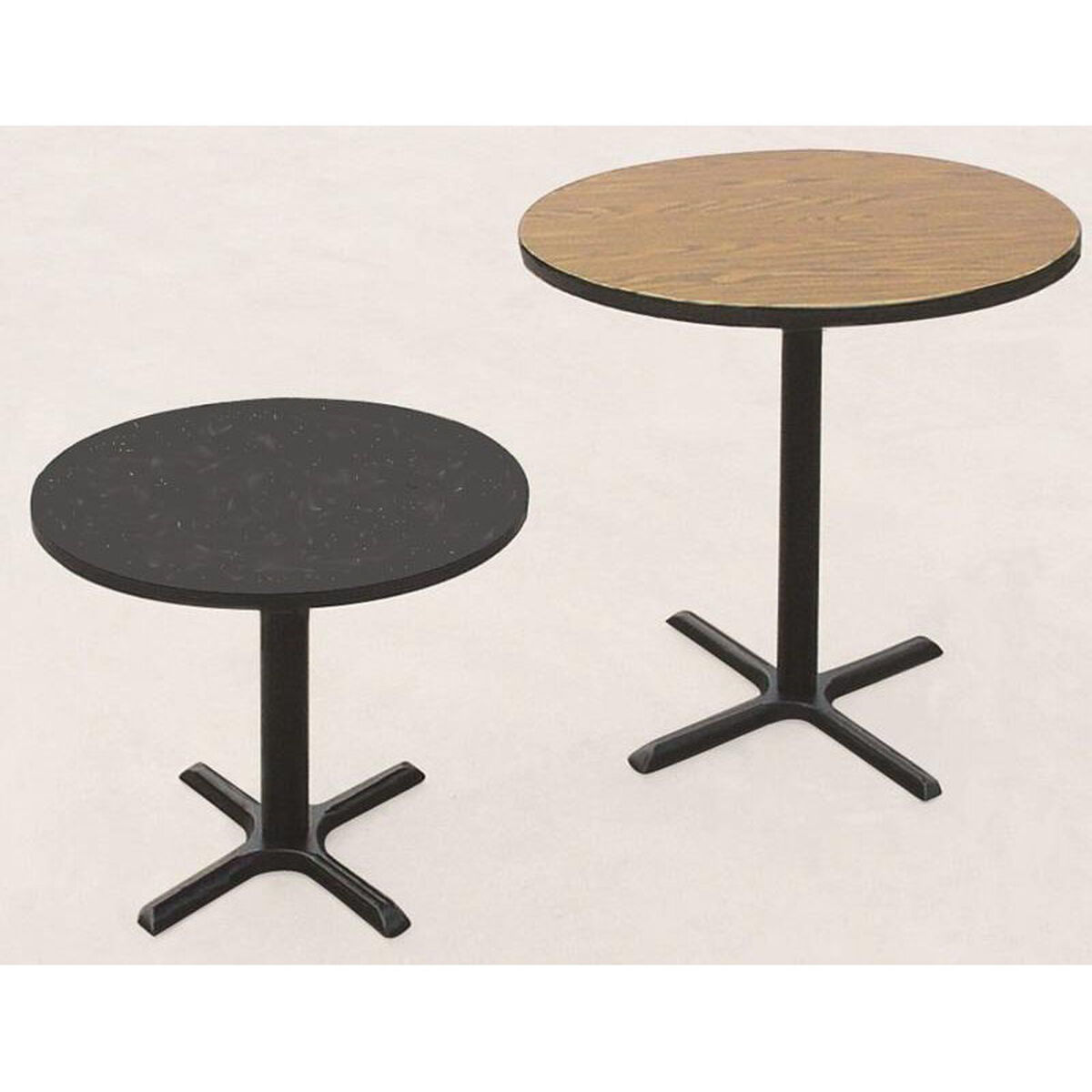 Round Cafe Table BCTR SchoolFurnitureLesscom - Round metal cafe table