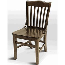 Classic Indoor Collection Beechwood Slat Full Back Side Chair