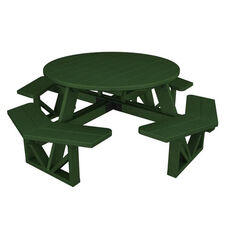 POLYWOOD® Commercial Collection Park Octagon Table - Green
