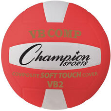 VB Pro Comp Official Size and Weight Volleyball - Red and White