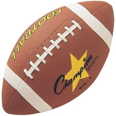 Rubber Football Junior Size