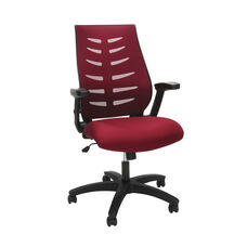 Core Collection Midback Mesh Office Chair for Computer Desk - Burgundy