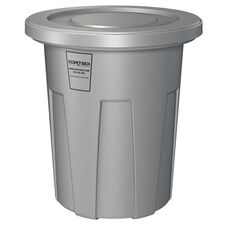 35 Gallon Cobra Flame Retardant Trash Can - Gray
