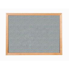 213 Series Tackboard with Angle Wood Face Frame - Claridge Cork - 96