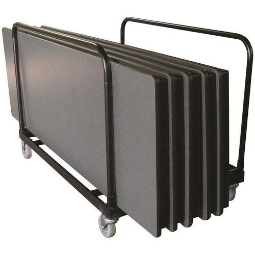 Table Edge Truck with Four Casters and Welded Steel Construction - 30