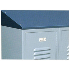 Powder Coated Steel Continuous Slope Hoods for Lockers