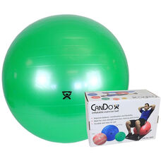 CanDo® Inflatable Green Exercise Ball - 26