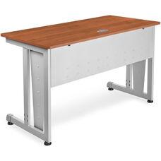 24'' D x 48'' W Modular Study Table - Cherry Finish
