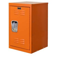 Hoop Orange Kids Mini Locker - Unassembled - 15