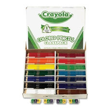 Crayola Colored Pencil Class Pack - 462/Box - 14 Ast