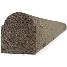 Rubberific Round Top Landscaping Timber - Earthtone - 4