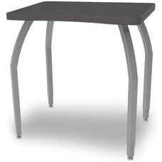 ELO Plymouth High Pressure Laminate Junior Sized Desk with Adjustable Legs and 1.25