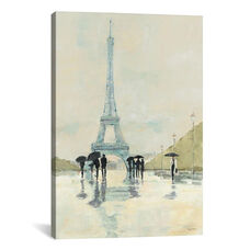 April in Paris by Avery Tillmon Gallery Wrapped Canvas Artwork