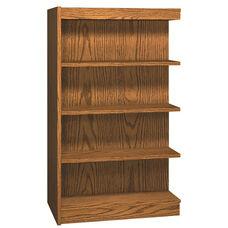 4-Shelf Double Sided Bookcase Adder