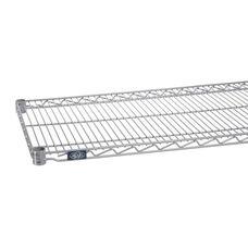 Silver Epoxy Standard Wire Shelf - 18