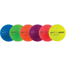 Rhino Skin Neon Rainbow Dodgeball Set Low Bounce