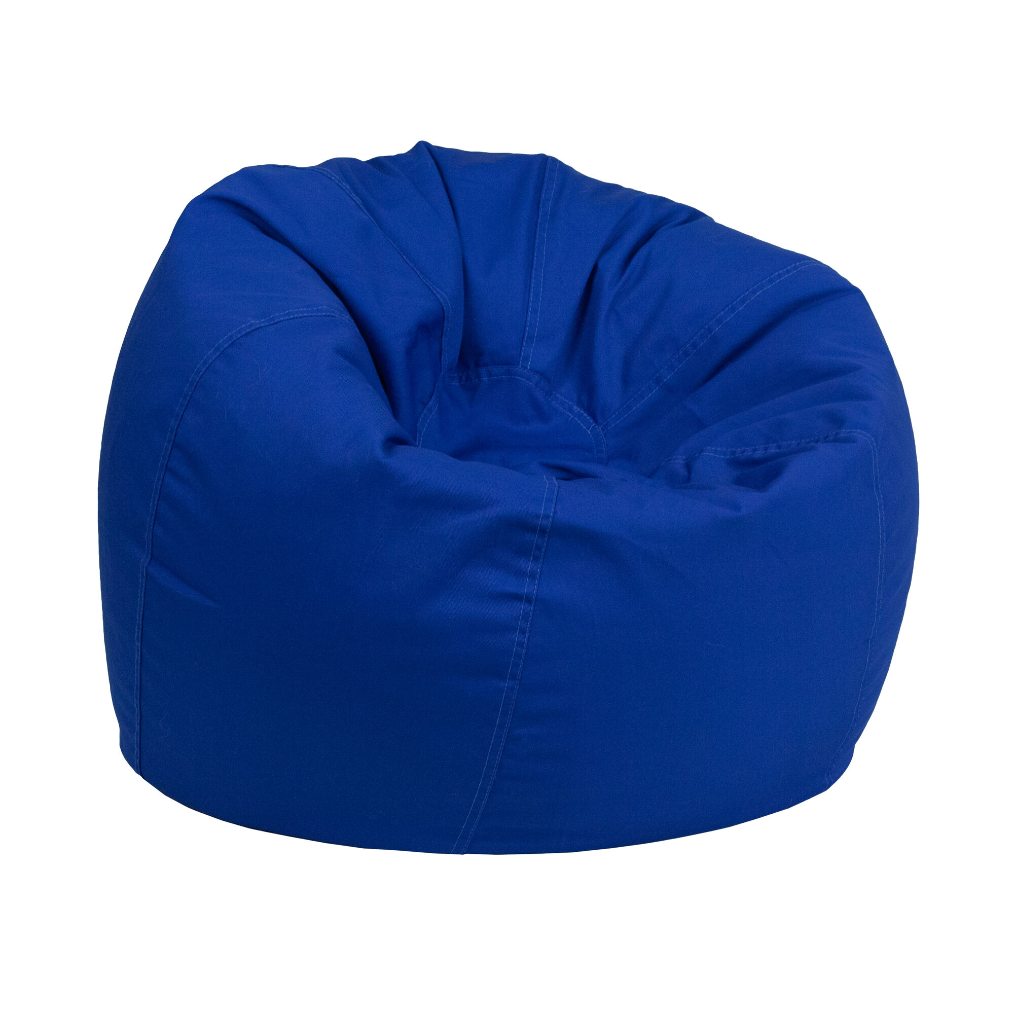 Royal Blue Bean Bag Chair Dg Bean Small Solid Roybl Gg