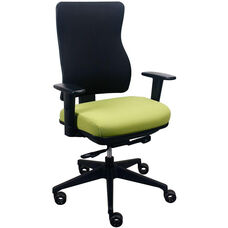 Tempur-Pedic® Spring Task Chair with Fabric Back - Meadow