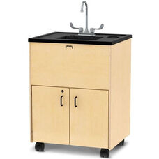 Clean Hands Helper Mobile Hand Washing Station with 38
