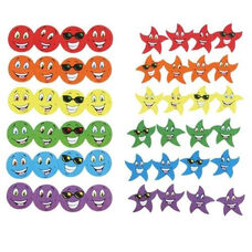 Trend Enterprises Stinky Stickers - Smiles/Stars - Photo Safe - 648 Stickers/PK