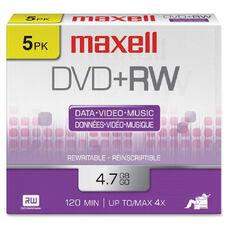 Maxell 4.7Gb Dvd+Rws