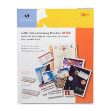 Sparco 3Mil Letter Size Laminating Pouches - Pack Of 100