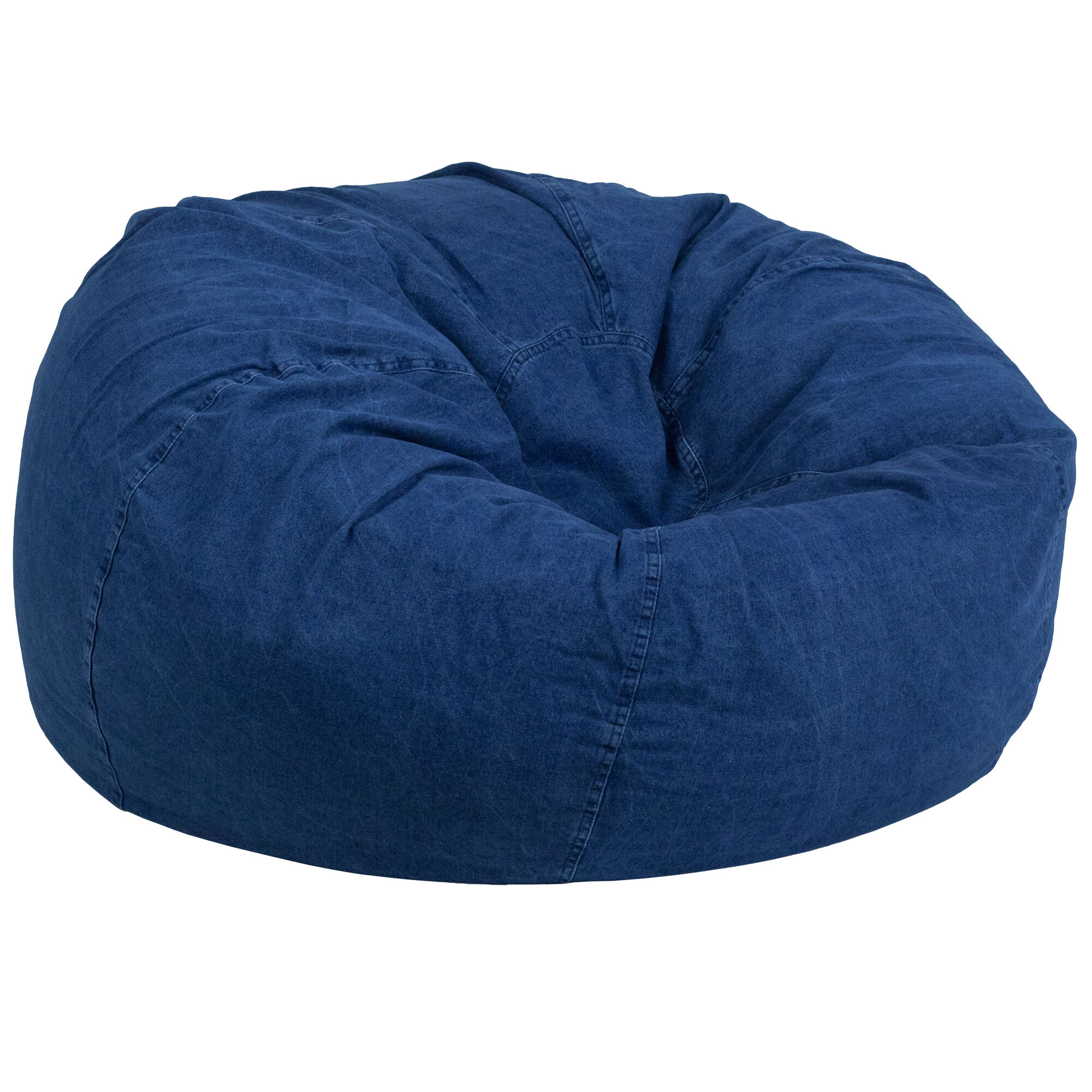Denim Bean Bag Chair Dg Bean Large Denim Gg