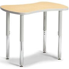 Collaborative Bowtie Table - Maple/Gray