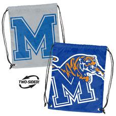 University of Memphis Team Logo Doubleheader Drawstring Backsack