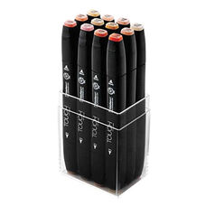 ShinHan Art TOUCH Twin 12-Piece Skin Tones Marker Set