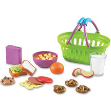 Learning Resources New Sprouts - Play Lunch Basket - 19 Pieces