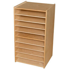 Contender Mobile Paper and Puzzle Storage Center - Unassembled - 20