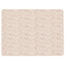 Frameless Burlap Weave Vinyl Display Panel with Radius Corners - Greige - 18