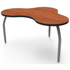 ELO Nimbus High Pressure Laminate Table with Adjustable Legs and 1.25