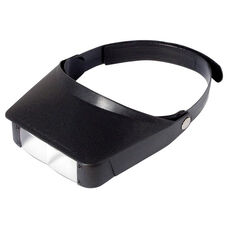 MagniVisor Hands-Free 2x Magnification Head Visor with 3x Flip-Down Lens