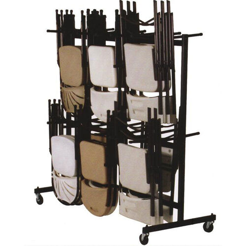Our Steel Frame Folding Chair Truck with 4