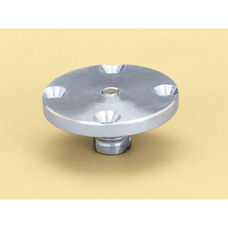 Thin Slab Drill-In Volleyball Floor Anchor for Portable Volleyball Systems
