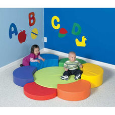 Multicolor Flower Petal Soft Play Center
