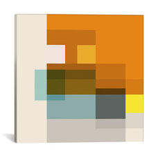 Pataphysical Square by Richard Blanco Gallery Wrapped Canvas Artwork
