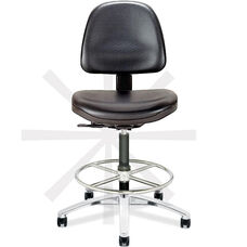 Tec Line Cleanroom and ESD Class 100 Tall Height Stool