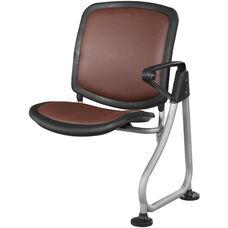 Ready Link Row Add-On Chair - Maroon