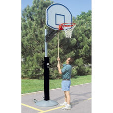 Quick-Change Adjustable Height Portable Outdoor Basketball Goal