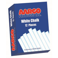 White Chalk - 12 Boxes of 12 Pieces