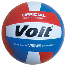 Voit® V5RWB Rubber Volleyball