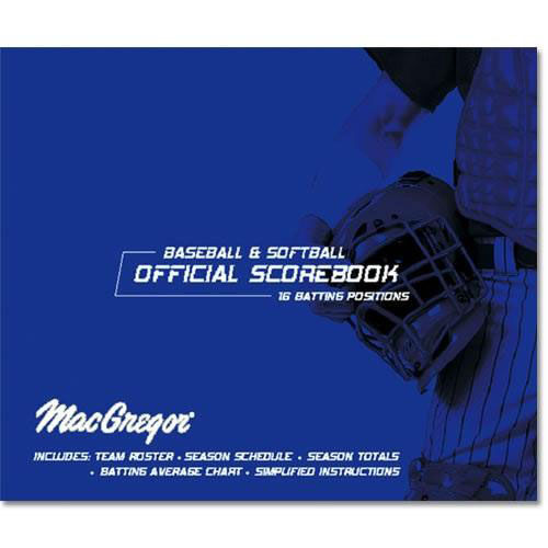 Our MacGregor® Baseball and Softball Oversized Scorebook is on sale now.