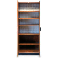 Store-Wall™ Storage System Cabinet with Five Laminate Shelves