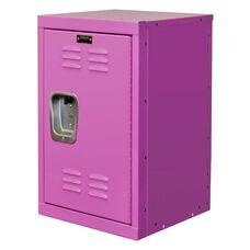 Bubble Gum Pink Kids Mini Locker Unassembled - 15