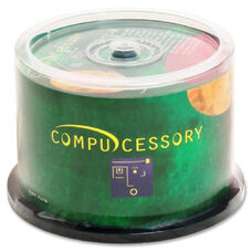 Compucessory Branded Recordable Cd-R Spindle - Pack Of 50