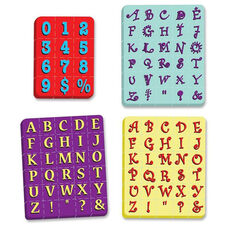 Chenille Kraft Company WonderFoam Stamps Set